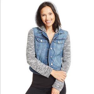 Denim/cotton jacket
